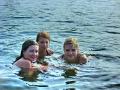 Юлька, Ксюха и Ритыш. Лето 2008-ого.