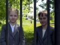 Девчушки из косинской школы