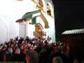Окончание крестного хода в новом храме всех святых в Новокосино. Как раз настоятель храма возглашает