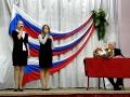 Легендарный ансамбль «Юные голоса России»  на презентации книги Валентина Чулкова. Школа №1022.